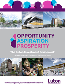 Opportuity aspiration prosperity leaflet cover