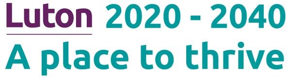 Luton 2020-2040 logo