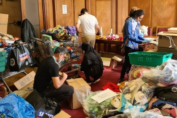 Luton residents have demonstrated an unprecedented outpouring of compassion from individuals and the voluntary sector,