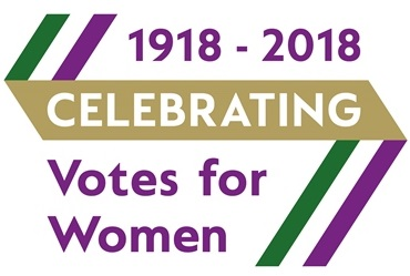 Centenary ribbon votes for women