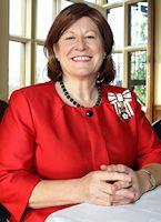 Lord Lieutenant for Bedfordshire, Mrs Helen Nellis.