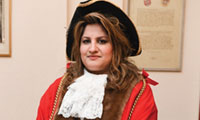 Luton's new mayor - Councillor Naseem Ayub