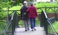 Lovers Walk Wardown Park