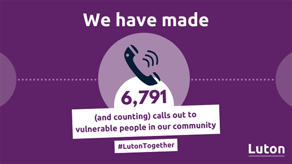 We've made 6,791 calls to vulnerable people