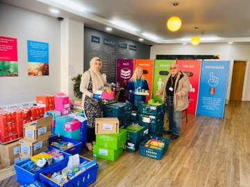 A huge thank you to the Discover Islam centre