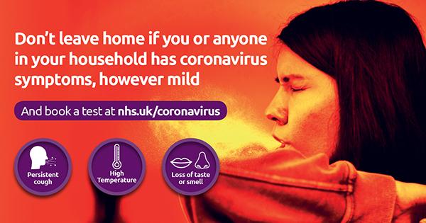 The symptoms of coronavirus