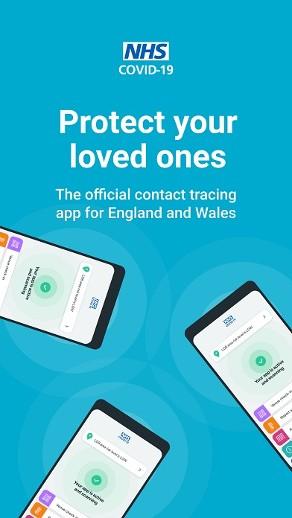 NHS Covid-19 app image