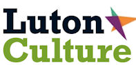 Luton Culture logo in black and green