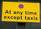 Taxis only